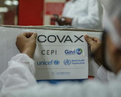 Covax – pela vacinação de todos.
