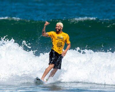 O Mundial de Surfe chega à Austrália.