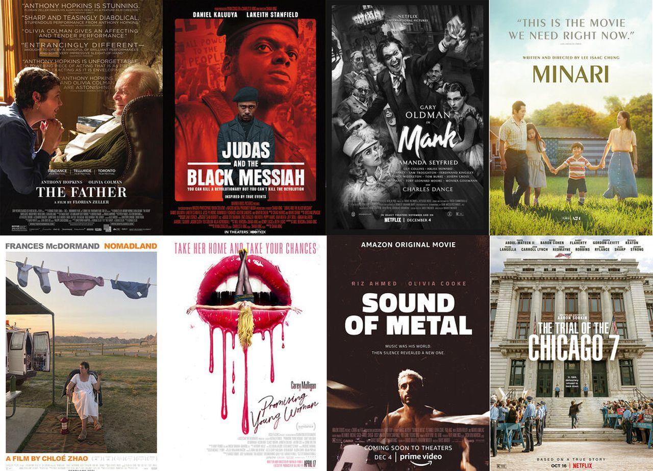 Oscar 2021: os 8 indicados a melhor filme
