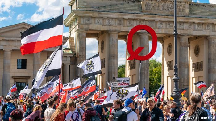 A Alemanha e os negacionistas