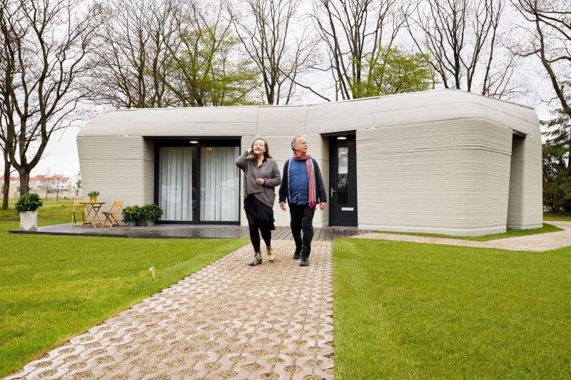 O projeto holandês que imprime casas (literalmente)