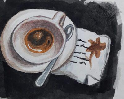 O Café – Werner Schön (texto) & Luana Plebani (arte)