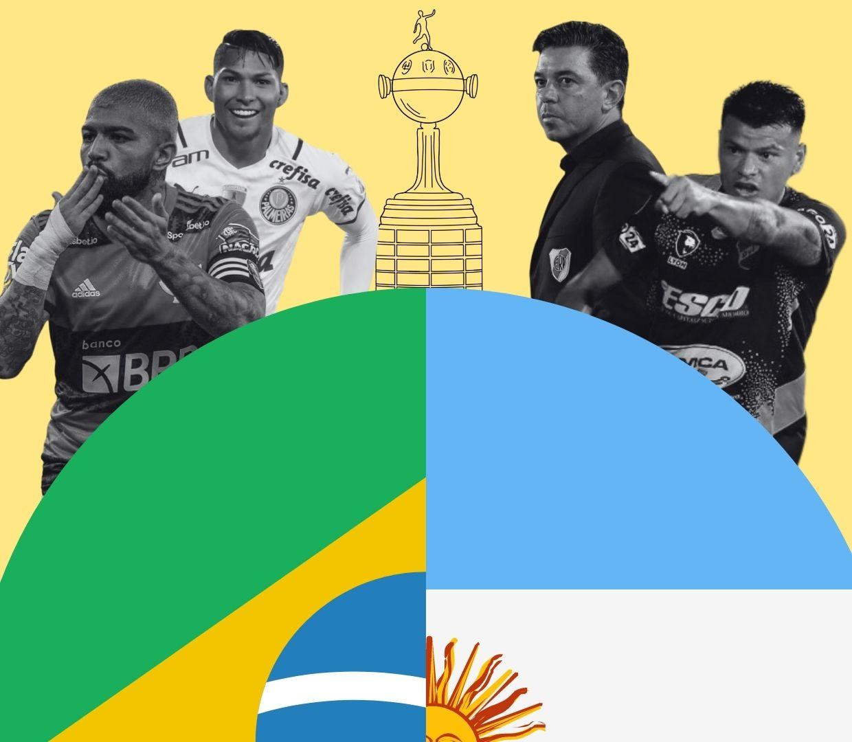 Com pouca representatividade, Libertadores se torna um grande Brasil x Argentina