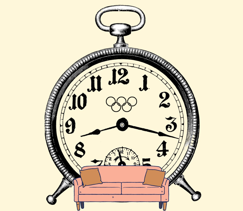 O sofá e o tempo