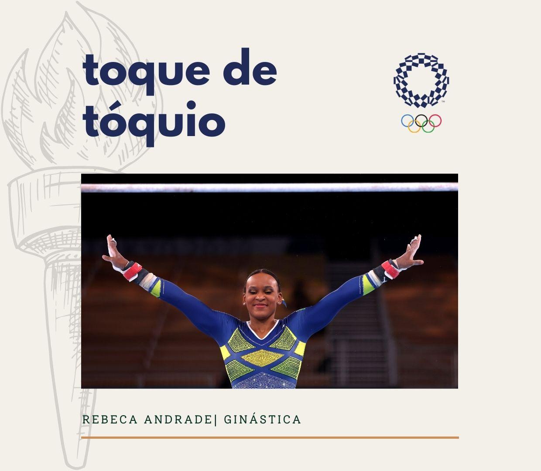 Toque de Tóquio 4: Rebeca Andrade é PRATA
