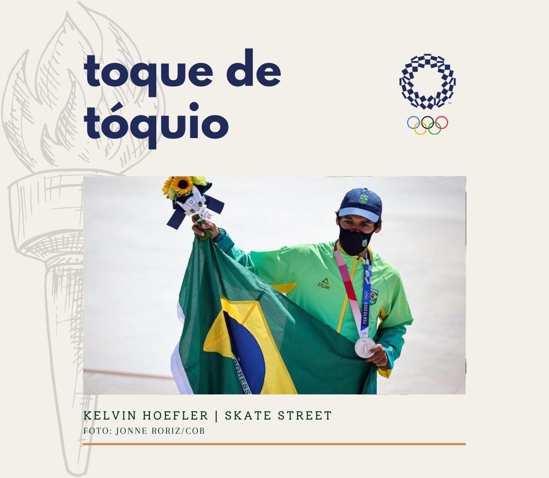Toque de Tóquio: Brasil é prata no skate