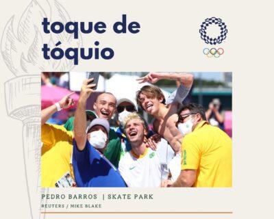 Toque de Tóquio: Pedro Barros é PRATA