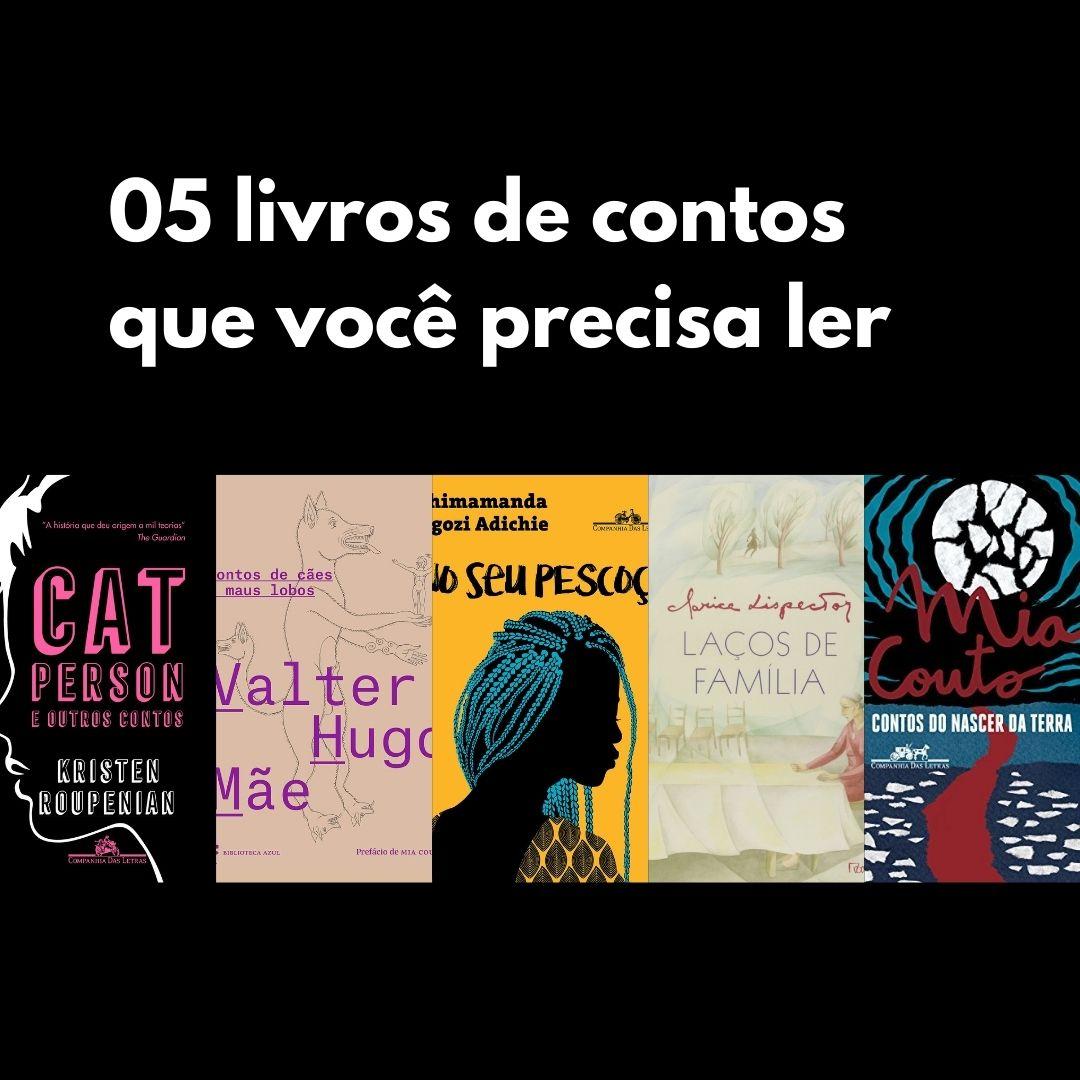 05 livros de contos que você precisa ler