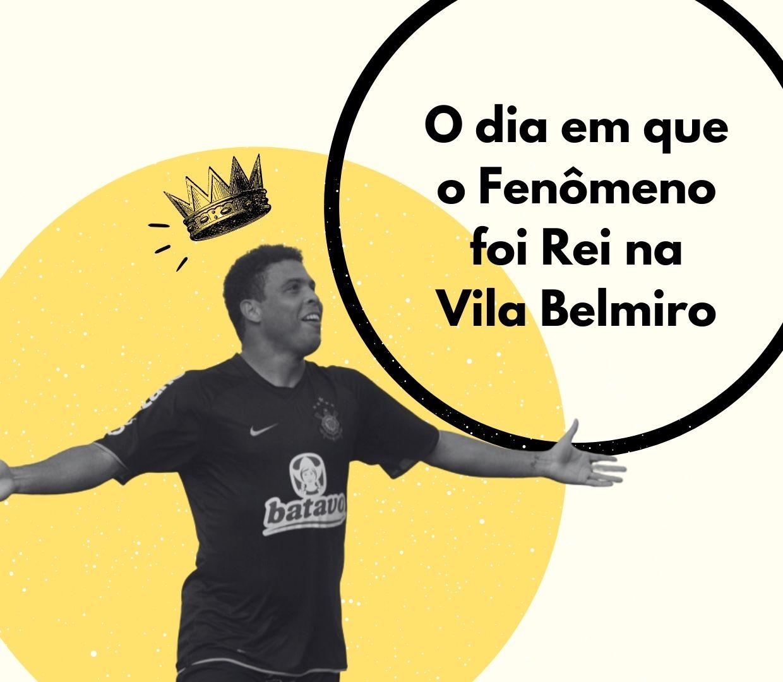 45 anos de Ronaldo: o dia em que o fenômeno foi rei na Vila Belmiro